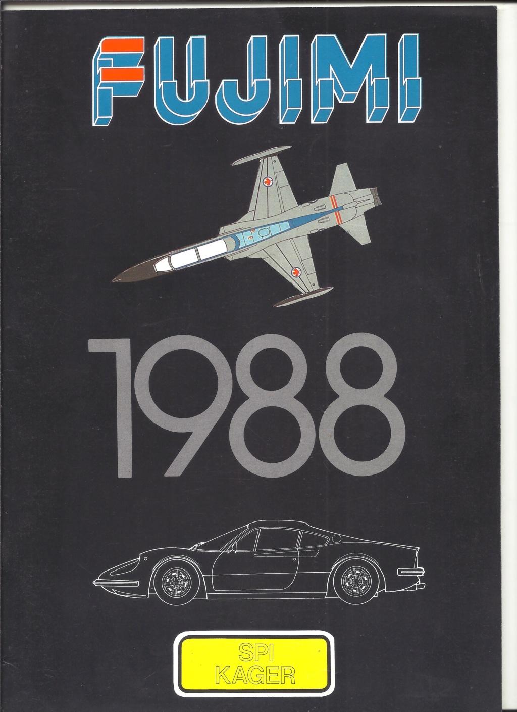 FUJIMI 1988] Catalogue 1988
