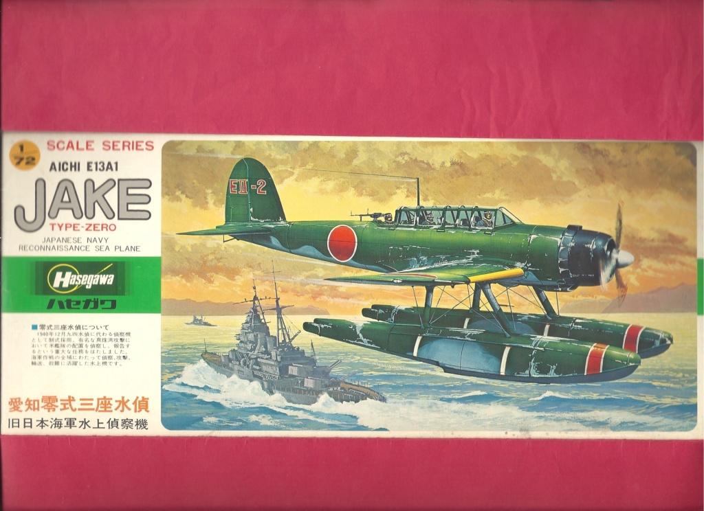 [HASEGAWA] AICHI EI3AI Type ZERO JAKE 1/72ème Réf D10 Hasega33