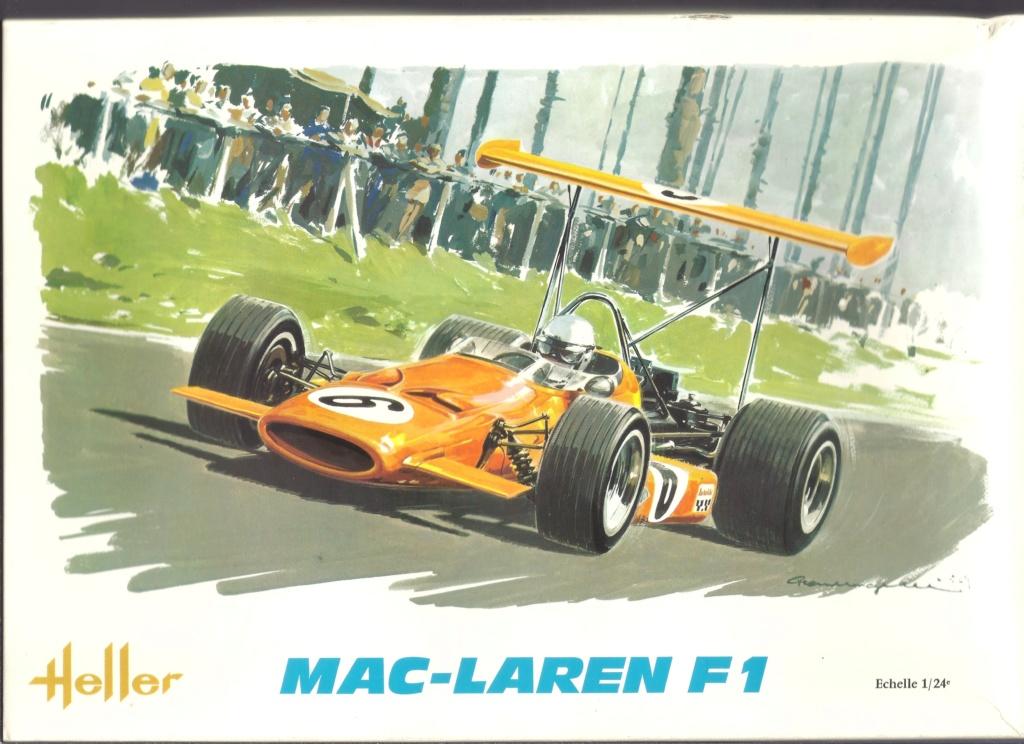 McLAREN M7A Formule I 1/24ème Réf L757 Helle187