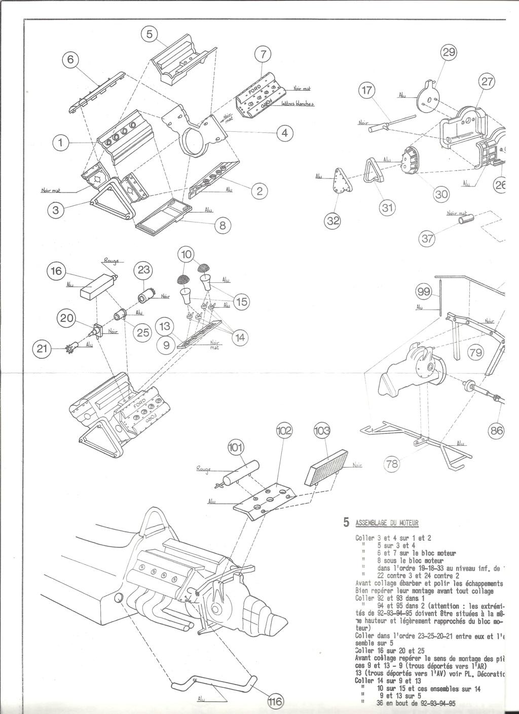 McLAREN M7A Formule I 1/24ème Réf L757 Notice Helle199