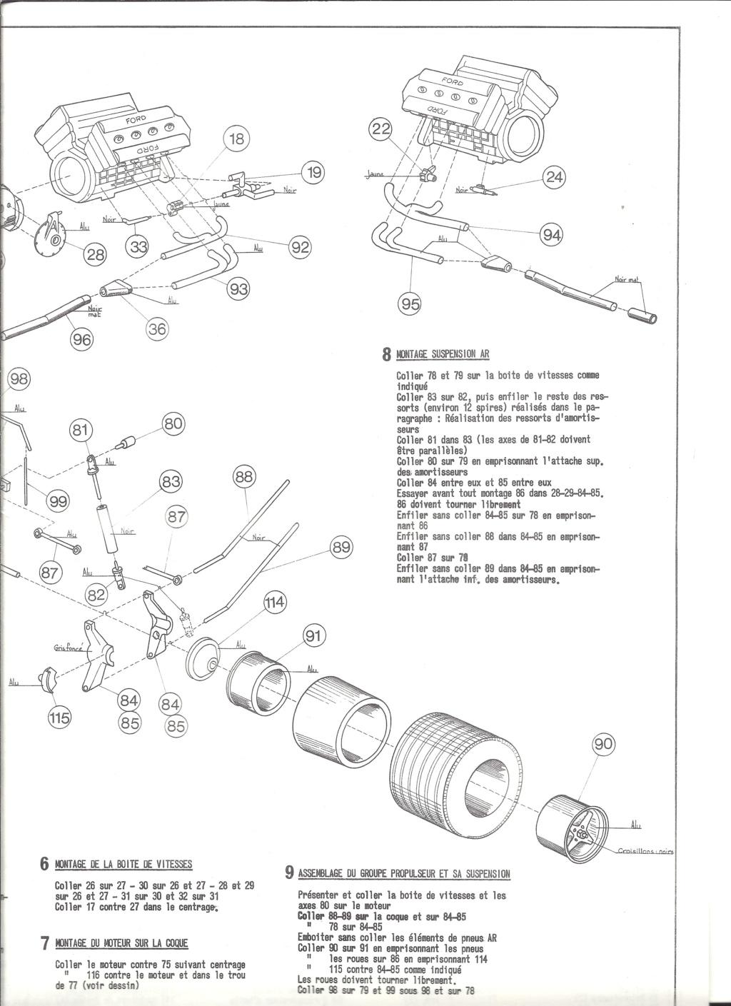 McLAREN M7A Formule I 1/24ème Réf L757 Notice Helle202