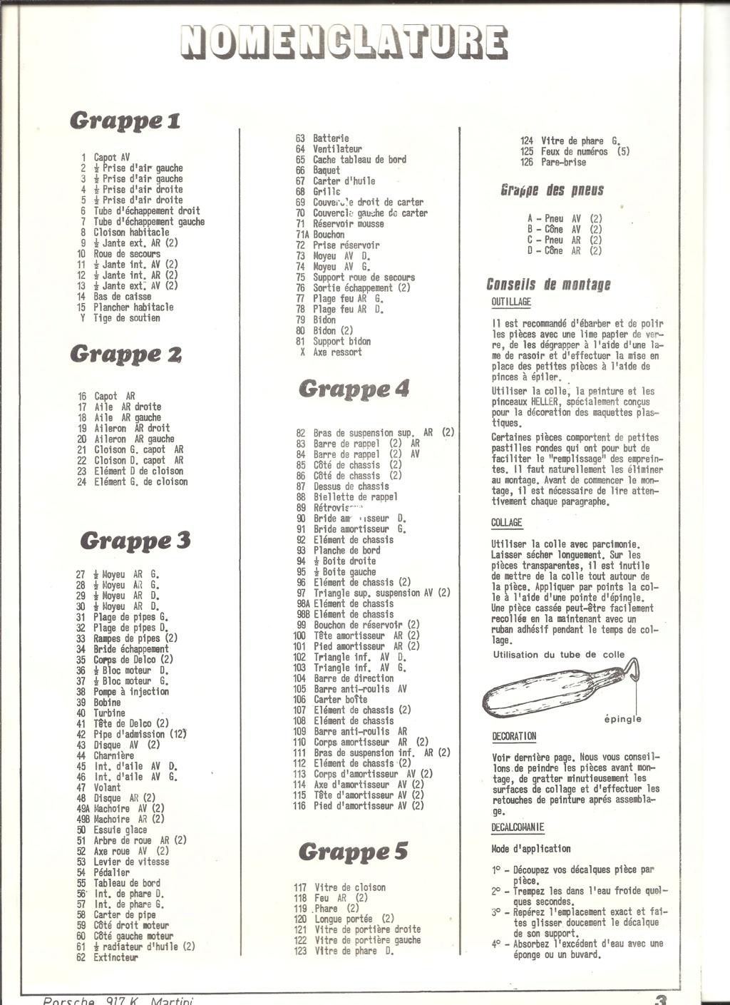 PORSCHE 917 K 1/24ème Réf L 742 Helle871