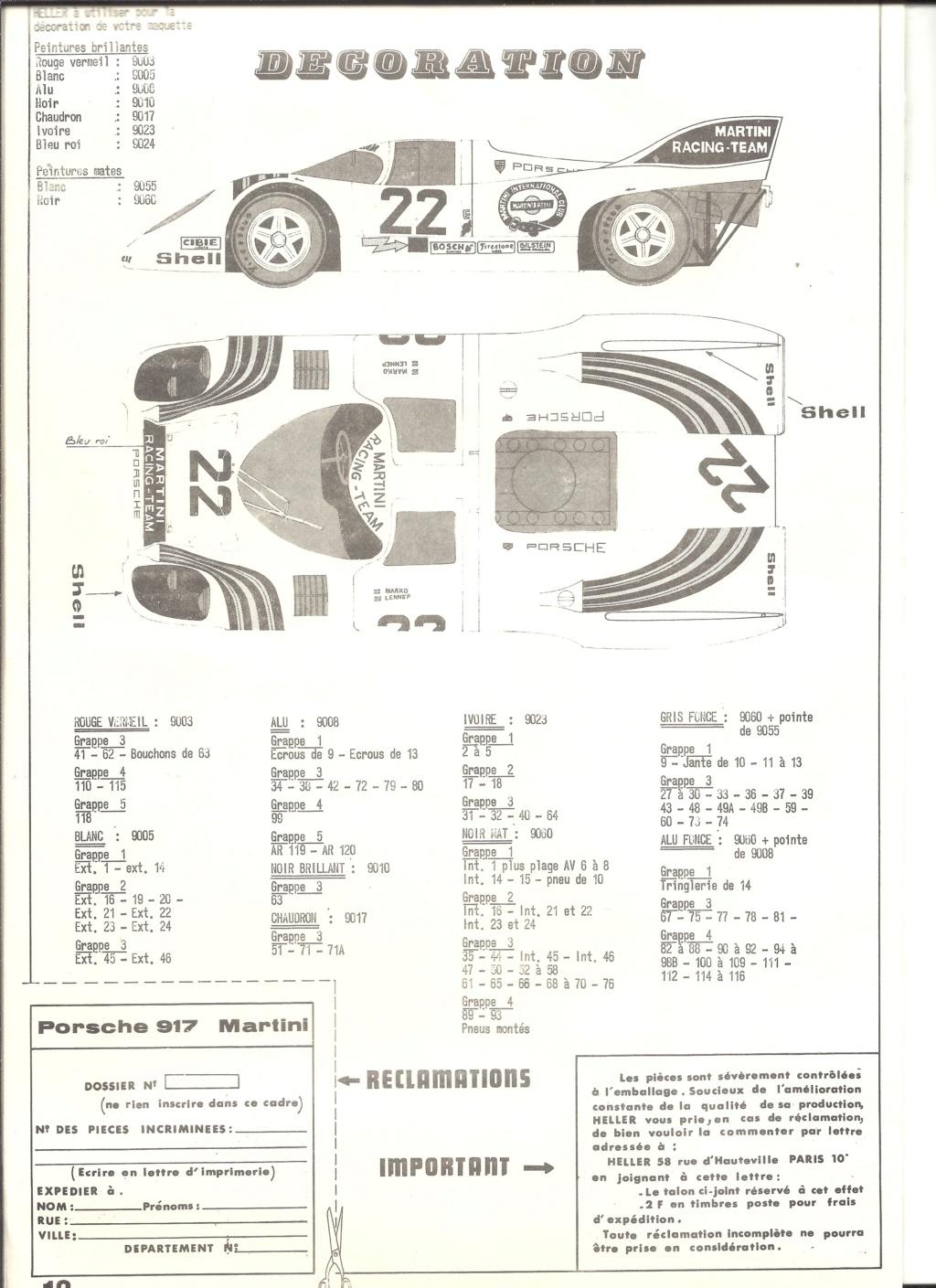 PORSCHE 917 K 1/24ème Réf L 742 Helle884