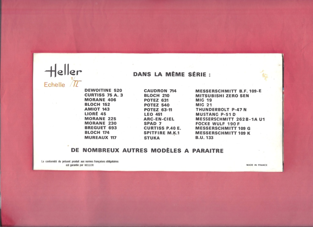 SAAB J 29 TUNNAN 1/72ème Réf 260 Helle943