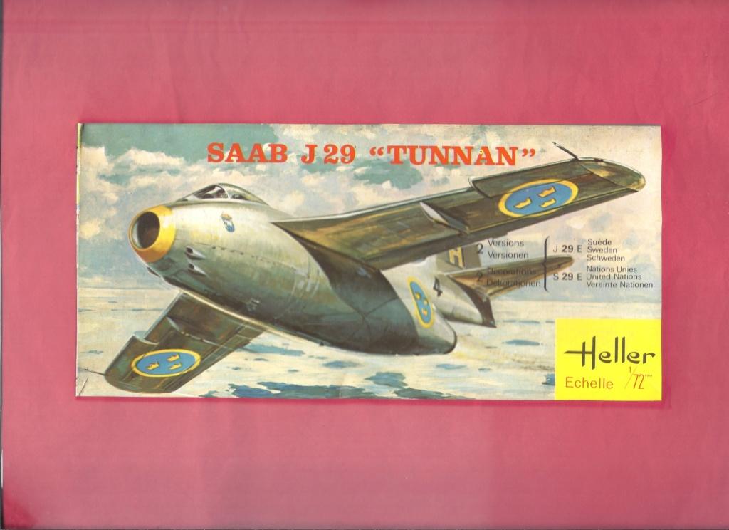 SAAB J 29 TUNNAN 1/72ème Réf 260 Helle944
