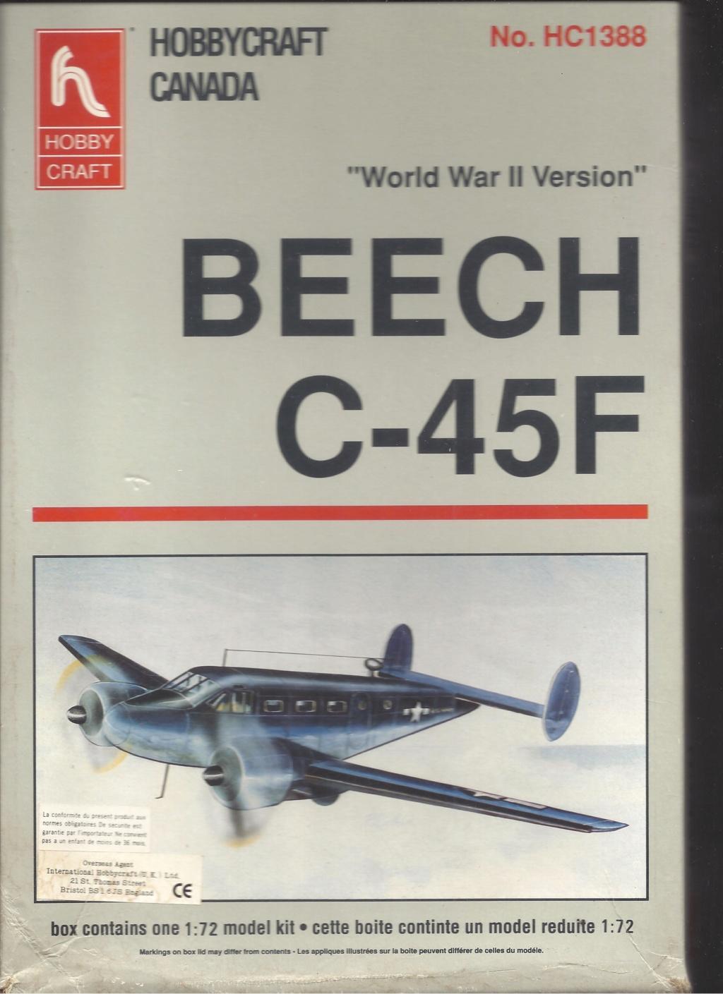[HOBBYCRAFT] BEECH C 45 F 1/72ème Réf HC 1388 Hobbyc10