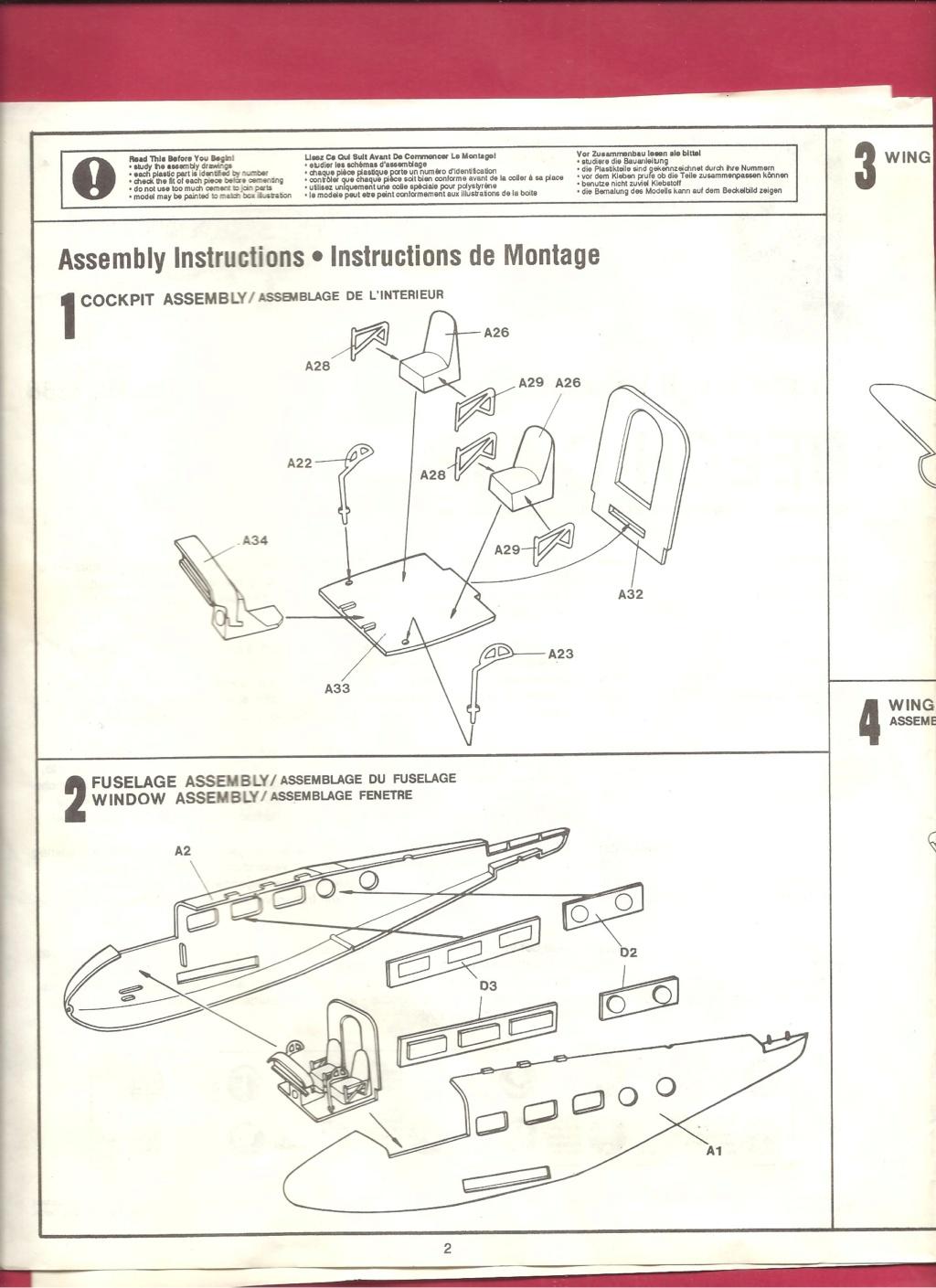 [HOBBYCRAFT] BEECH C 45 F 1/72ème Réf HC 1388 Hobbyc11