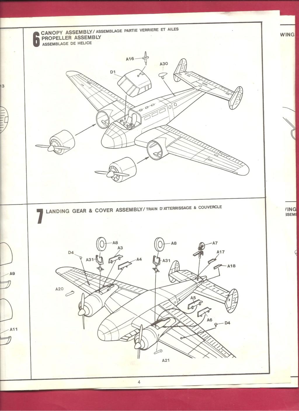 [HOBBYCRAFT] BEECH C 45 F 1/72ème Réf HC 1388 Hobbyc14
