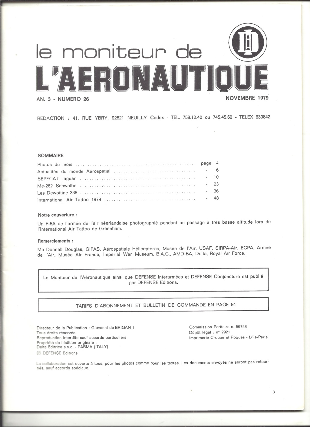 les achats de Jacques - Page 33 Revue185