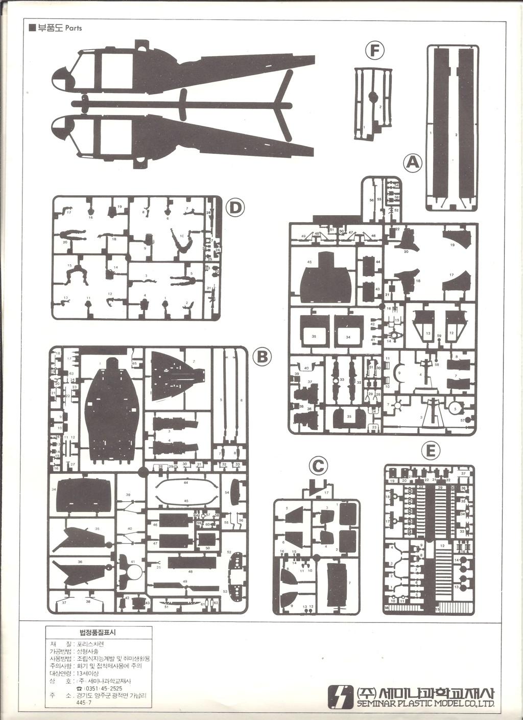 [SEMINARE] BELL UH 1B IROQUOIS 1/35ème Réf 8000 Notice Semina18