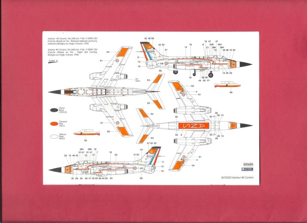 [SPECIAL HOBBY] SNCASO SO 4050 VAUTOUR IIN radar CYRANO 1/72ème Réf SH 72333 Notice Specia17