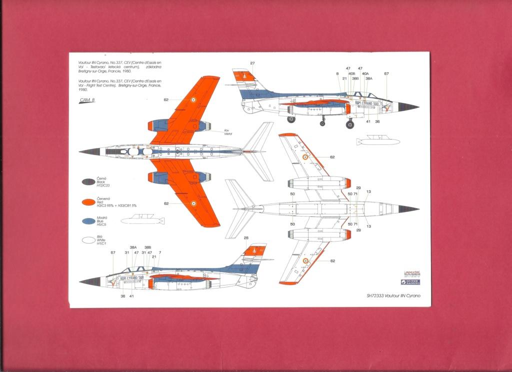 [SPECIAL HOBBY] SNCASO SO 4050 VAUTOUR IIN radar CYRANO 1/72ème Réf SH 72333 Notice Specia18