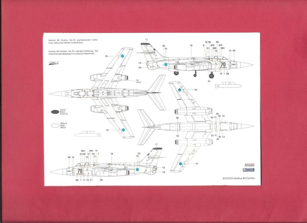 [SPECIAL HOBBY] SNCASO SO 4050 VAUTOUR IIN radar CYRANO 1/72ème Réf SH 72333 Notice Specia19