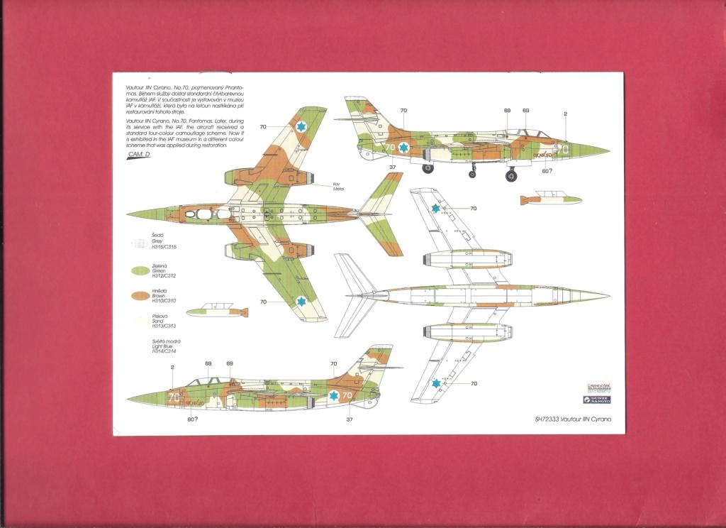 [SPECIAL HOBBY] SNCASO SO 4050 VAUTOUR IIN radar CYRANO 1/72ème Réf SH 72333 Notice Specia21
