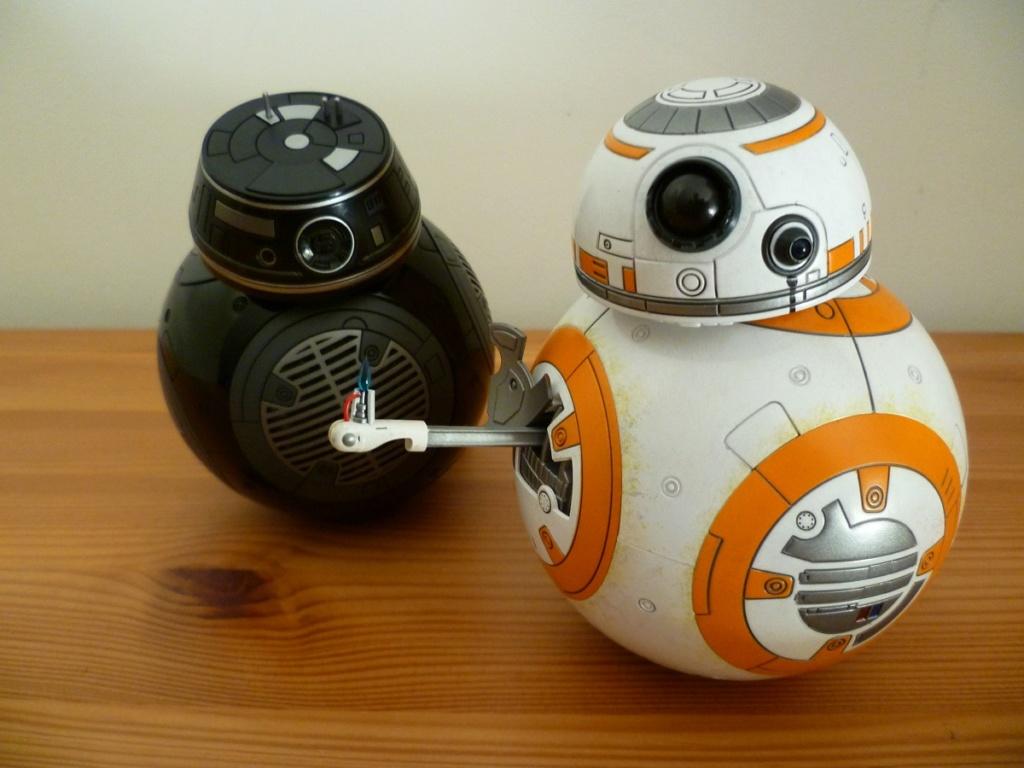 MMS440: Star wars The Last Jedi BB8 P1040525