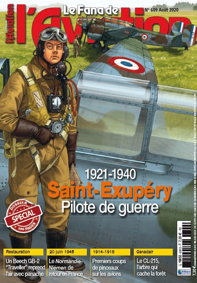 [Magazine]Le Fana de l'Aviation 609 Aout 2020 St EX pilote de guerre 11580310