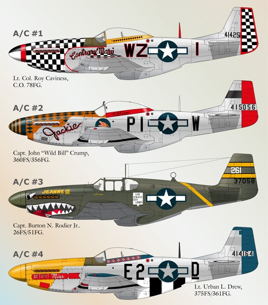 NORTH AMERICAN P-51 MUSTANG 11616011