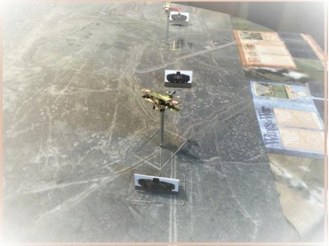 Tanks en mouvement sur les tapis de jeu WOG avec les Avions  A11