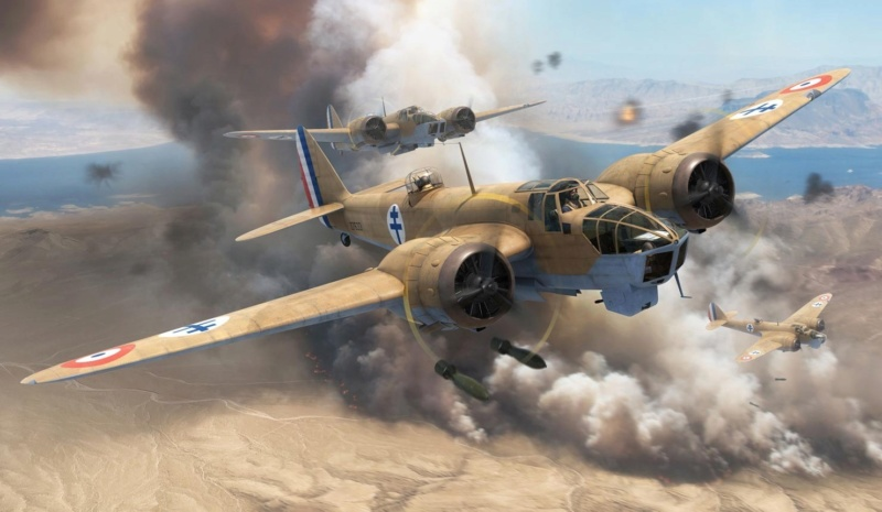 [WW2] bombardiers Bristol Blenheim - SM.79 Blenhe12