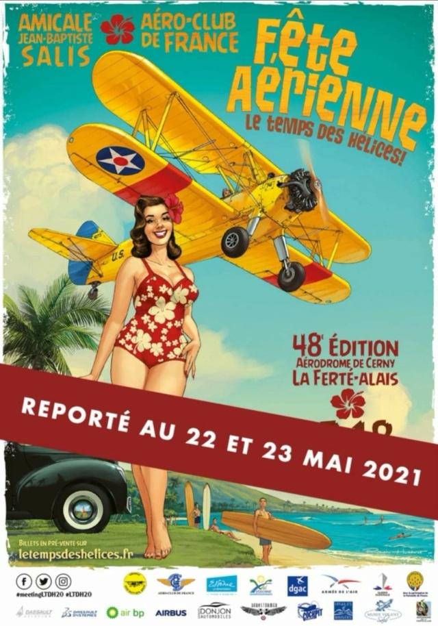 R.HUGAULT : ses affiches des meeting aériens de la Ferté-Allais Fb_img50