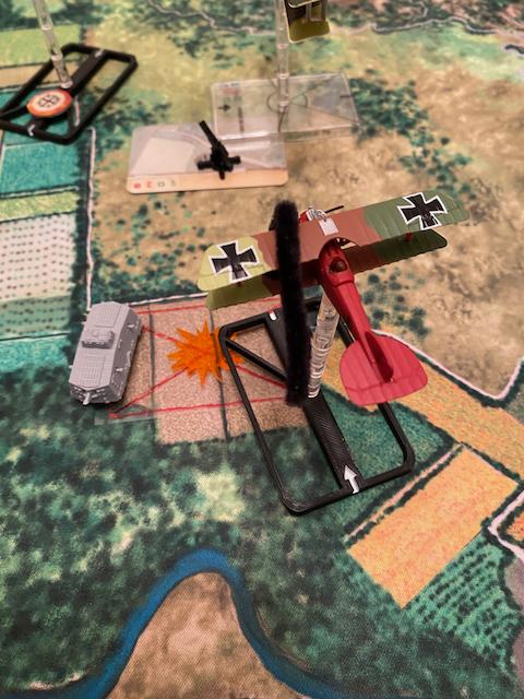Tanks en mouvement sur les tapis de jeu WOG avec les Avions  Img_8210