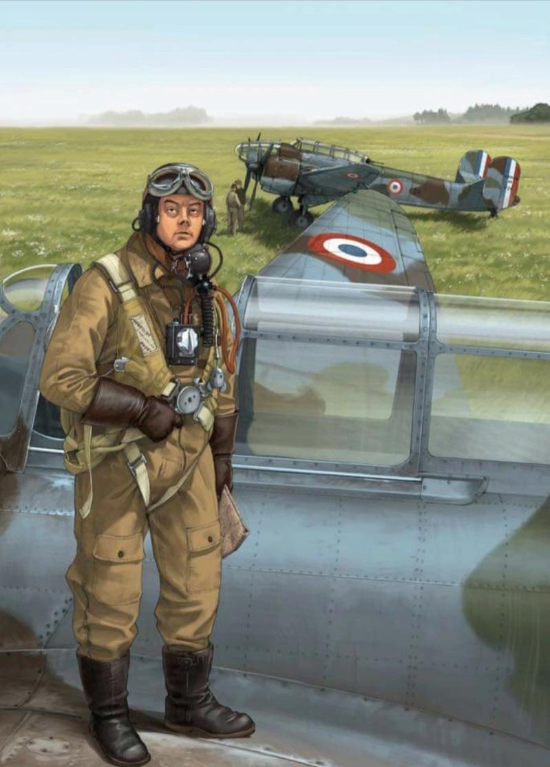 """Romain Hugault / Bernard Chabbert , Pilote de Guerre """" St Ex"""" Oct 2020  Mb17410"""