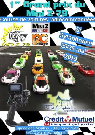 25/26 mai-Grand prix du Mini Z 79 à St Symphorien Affich11
