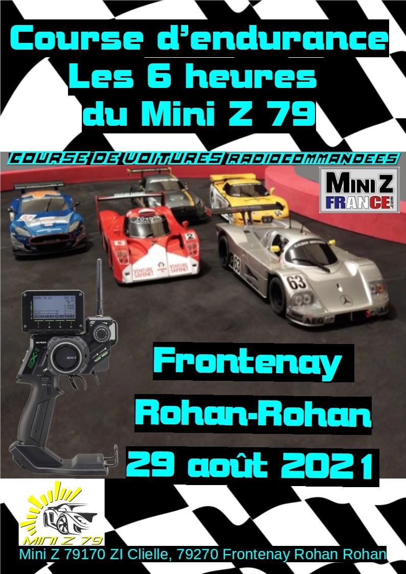 Course d'endurance : les 6h du Mini Z 79 (COMPLET !) Affich12