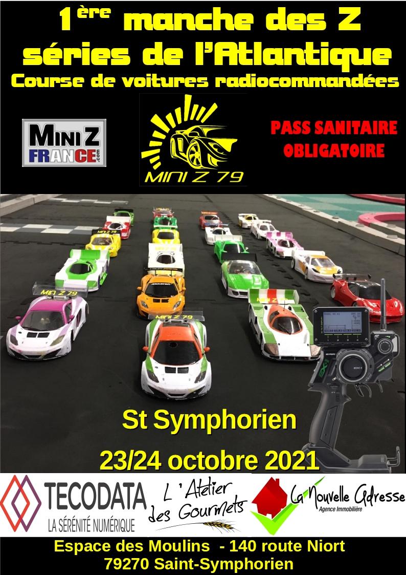Mini Z 79 (79)- 23/24octobre 2021 Saint Symphorien - 1ère manche ZSERIES Affich13