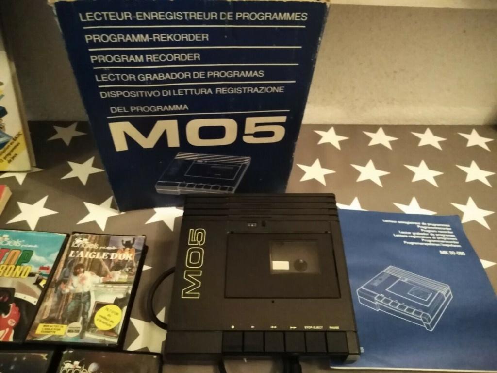 [VENDU] MO5 Thomson + lots de jeux + Livres S-l16017