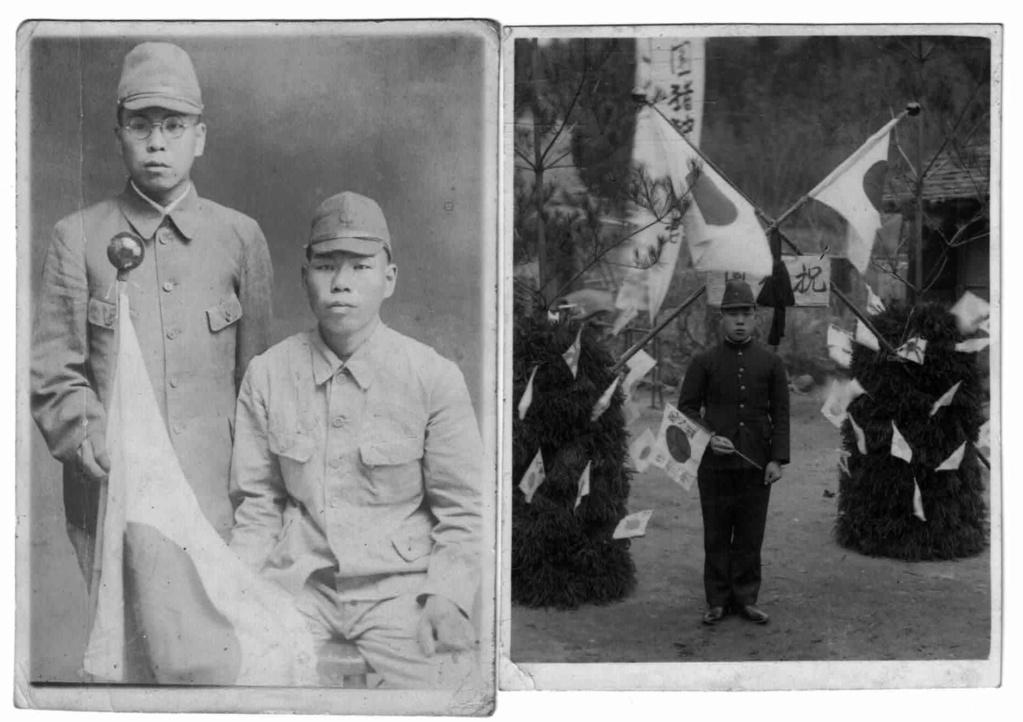 photo de soldat avec le drapeau japonais Dzopar10