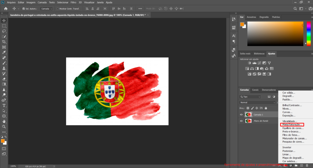[TUTORIAL] Alterar cor de uma imagem com Matriz e saturação Ptuto210