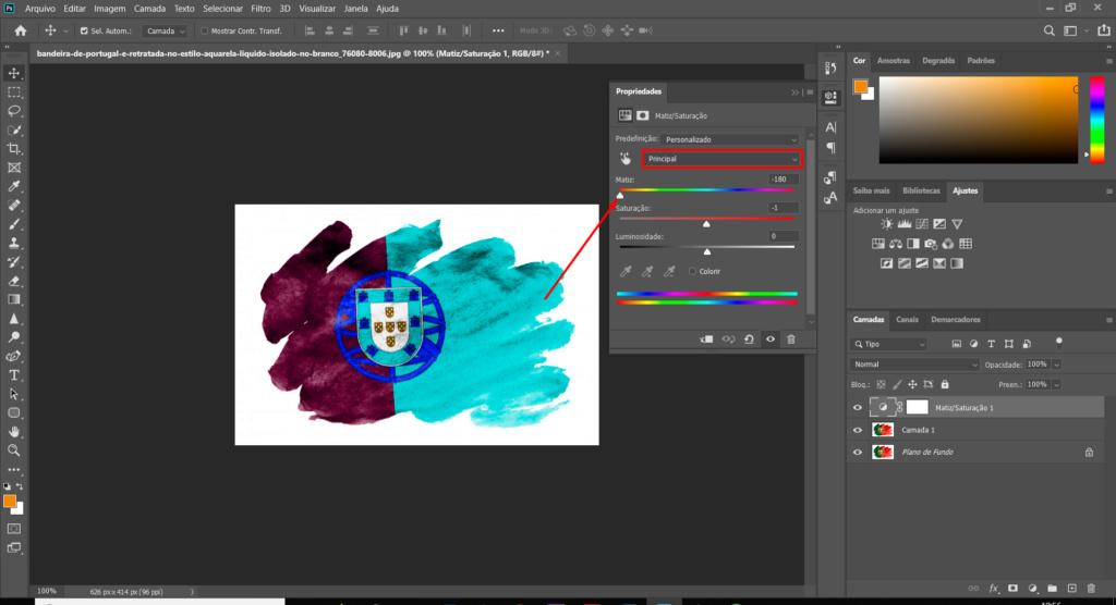 [TUTORIAL] Alterar cor de uma imagem com Matriz e saturação Ptuto310
