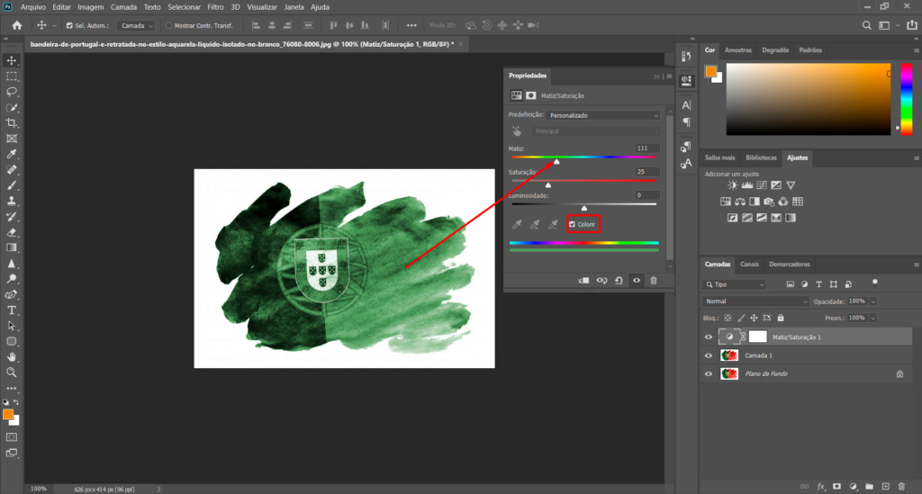 [TUTORIAL] Alterar cor de uma imagem com Matriz e saturação Ptuto410
