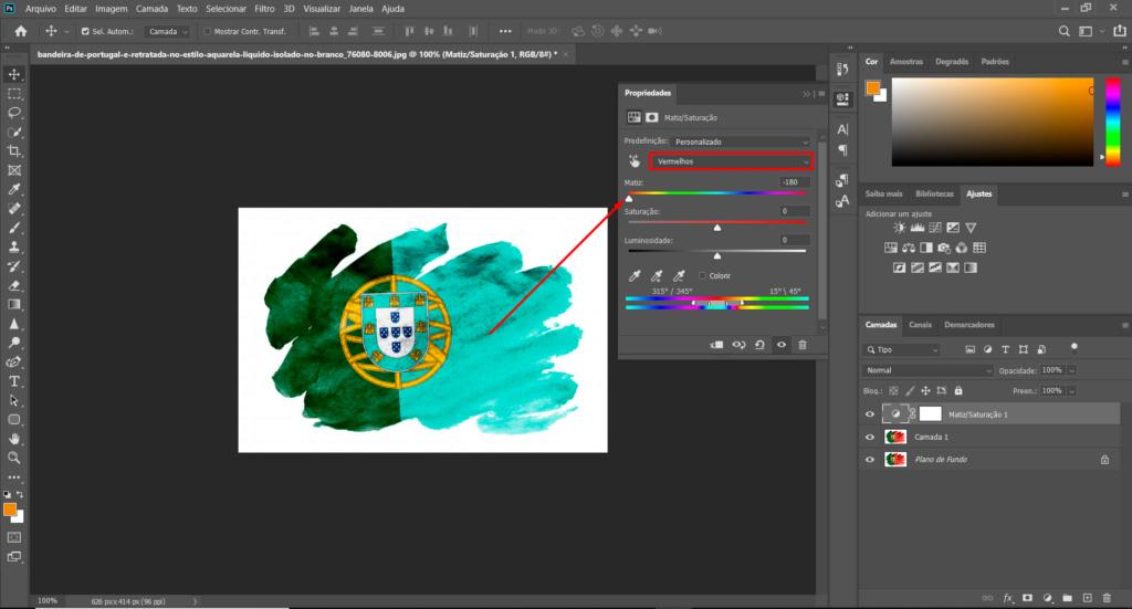 [TUTORIAL] Alterar cor de uma imagem com Matriz e saturação Ptuto510