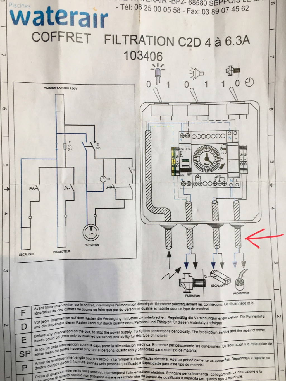 branchement electrolyseur C05b2610