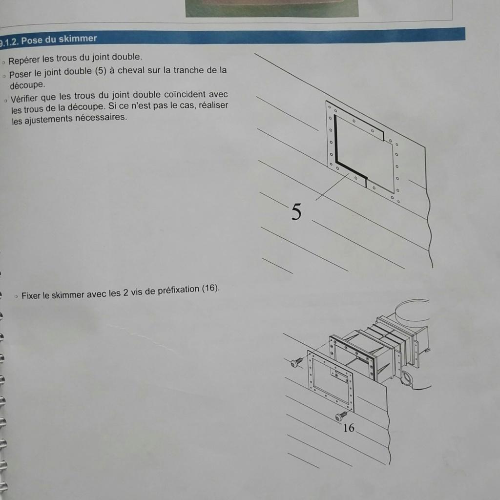 Dimensions découpe panneau de structure pour nouveau skimmer C10