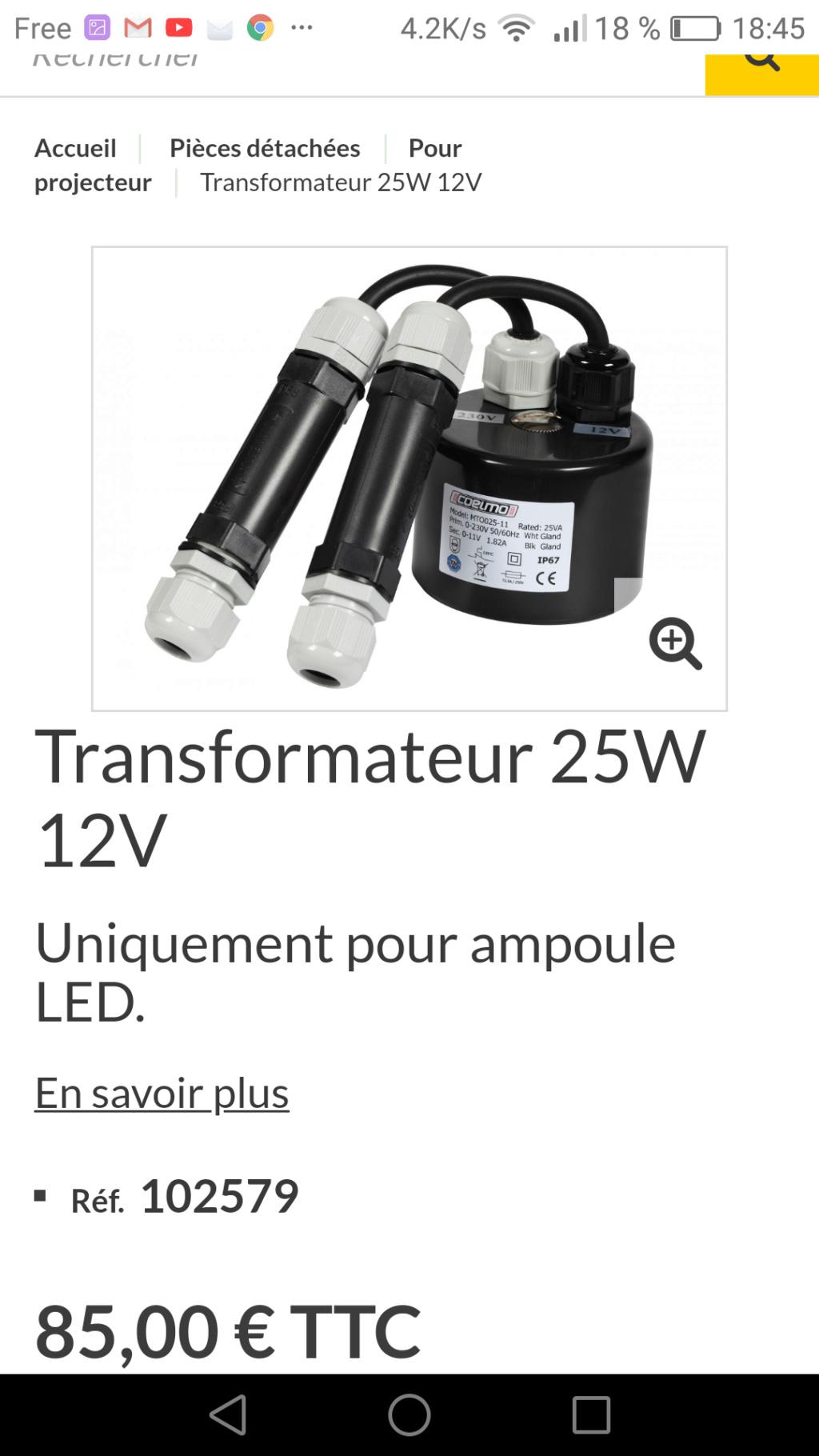 Quel transformateur Transf10