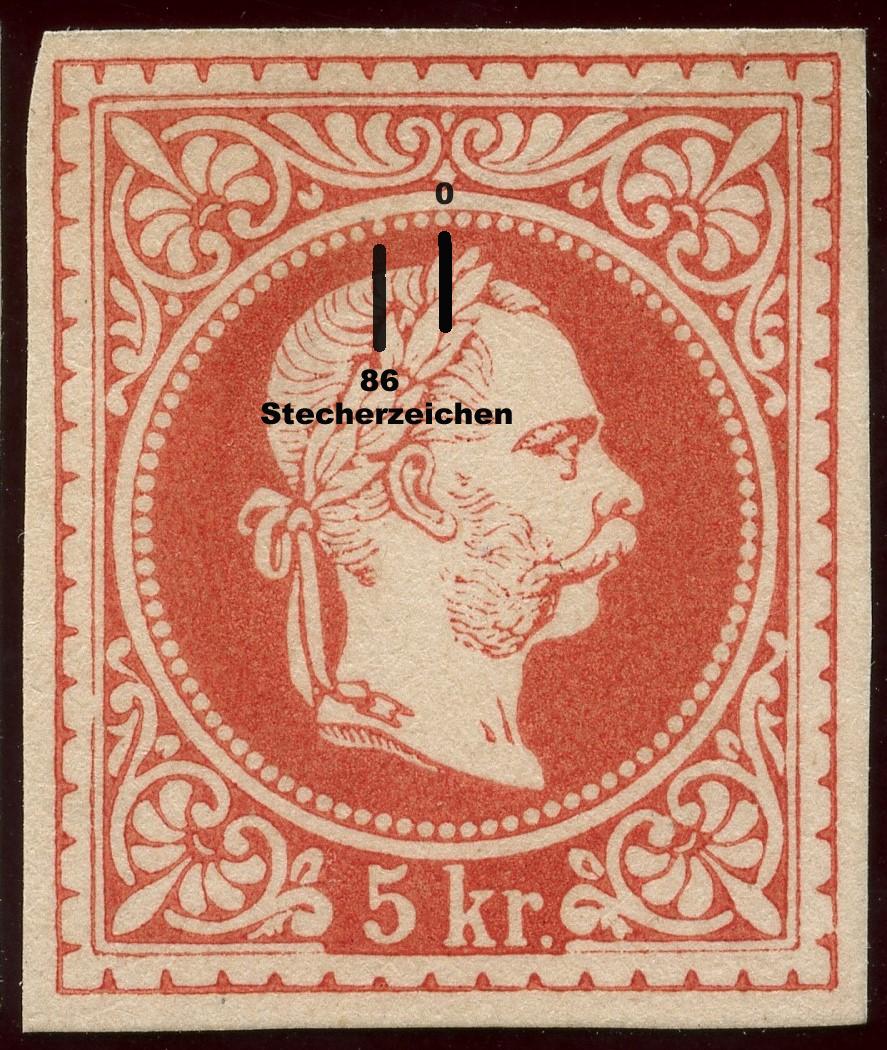 Freimarken-Ausgabe 1867 : Kopfbildnis Kaiser Franz Joseph I - Seite 20 5_kr10