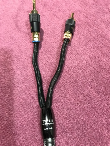 Audioquest Type 8 speaker cable 3m (used) Img_3211