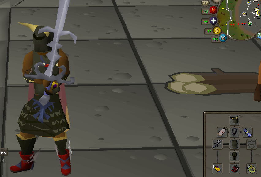 Finally back to OSRS...  AND I cant decide to what to do Melee11
