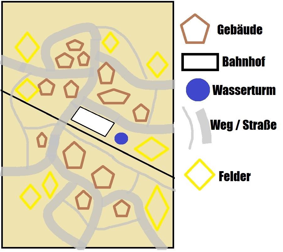 """Spielfeld """"Der Bahnhof von El Alamein""""  Entwur10"""