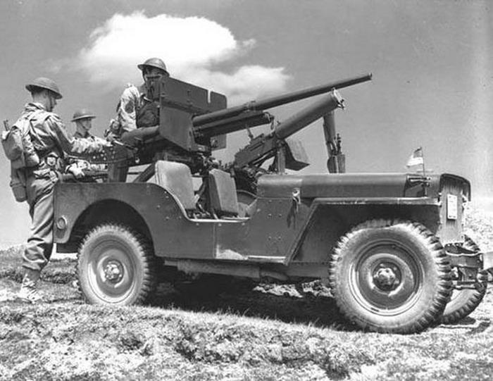 Rüstungsspirale #78 Dezember  2020: PAK auf Fahrzeug Jeep10