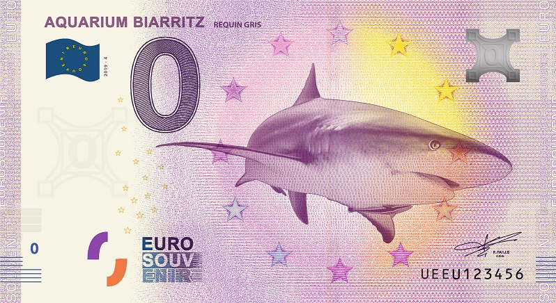 [Collecte expédiée] 64 - Aquarium Biarritz - Requin gris - 2019-4 - UEEU Biarri10