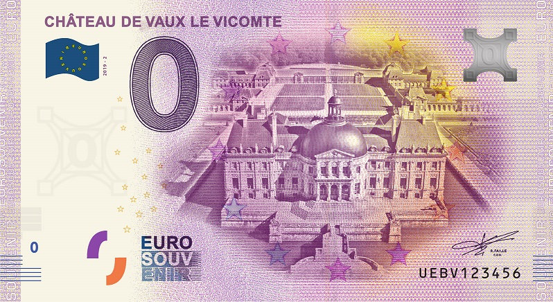 [Collecte Expédiée] Billet (77) MAINCY Château de Vaux le Vicomte - 2019-2 Fra_ue73