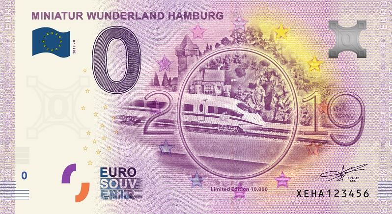 [COLLECTE Expédiée] Allemagne - HAMBURG - Miniatur Wunderland - 2019-8 Fra_x133