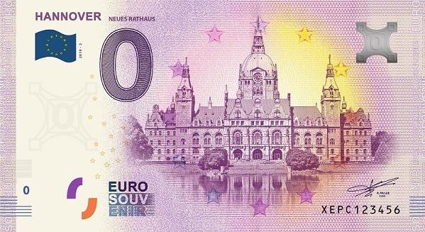 [Collecte Expédiée] Allemagne - Hannover Neues Rathaus - 2019-3 Fra_x142