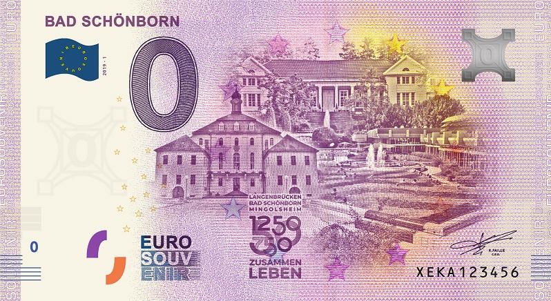 [Collecte Expédiée] ALLEMAGNE - Bad Schönborn - 2019 Fra_x168