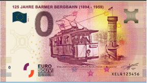 [Collecte expédiée]Billet Allemagne - 125 Jahre Barmer Bergbahn - 2019 Sans_t10