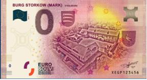 [Collecte Clôturée] Billet Allemagne - BURG STORKOW - MARK - 2019 Sans_t11